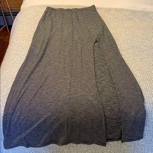 Women's American Eagle Striped Maxi Skirt XS